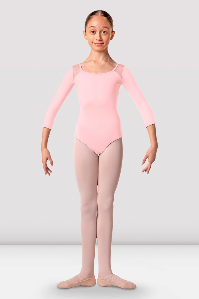 Girls Lea Three Quarter Sleeve Leotard - BLOCH US