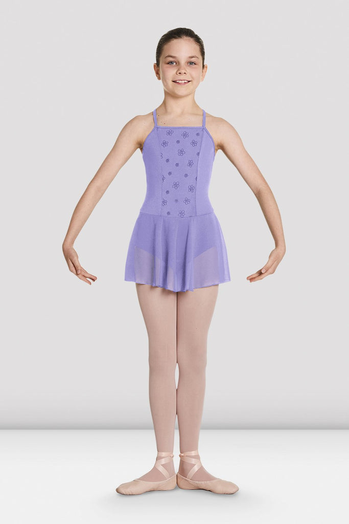Girls Jeana Mesh Skirted Leotard