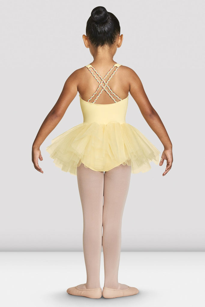 Girls Clara Strap Tank Tutu Leotard - BLOCH US