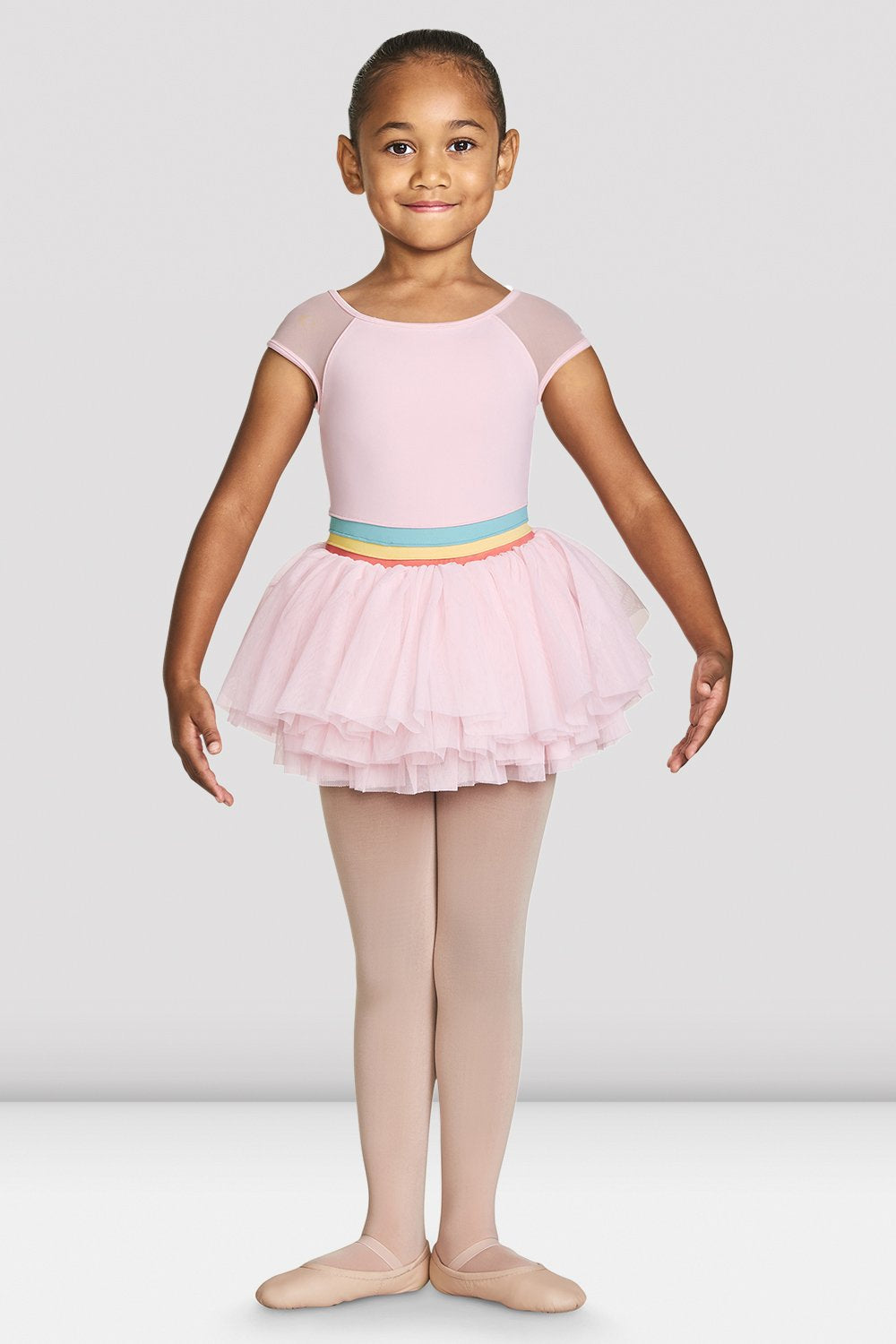 Girls Mabel Cap Sleeve Tutu Leotard - BLOCH US