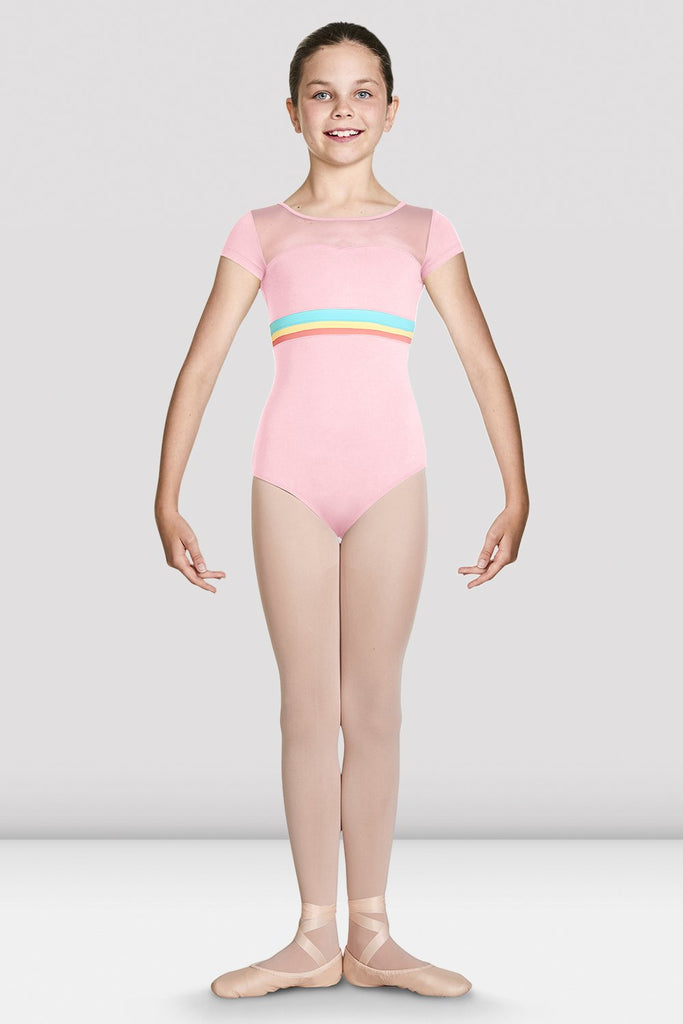 Girls Isa Sweetheart Cap Sleeve Leotard - BLOCH US