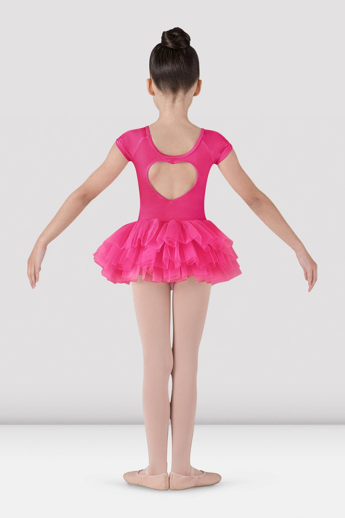 Girls Ife Heart Back Tutu Leotard - BLOCH US