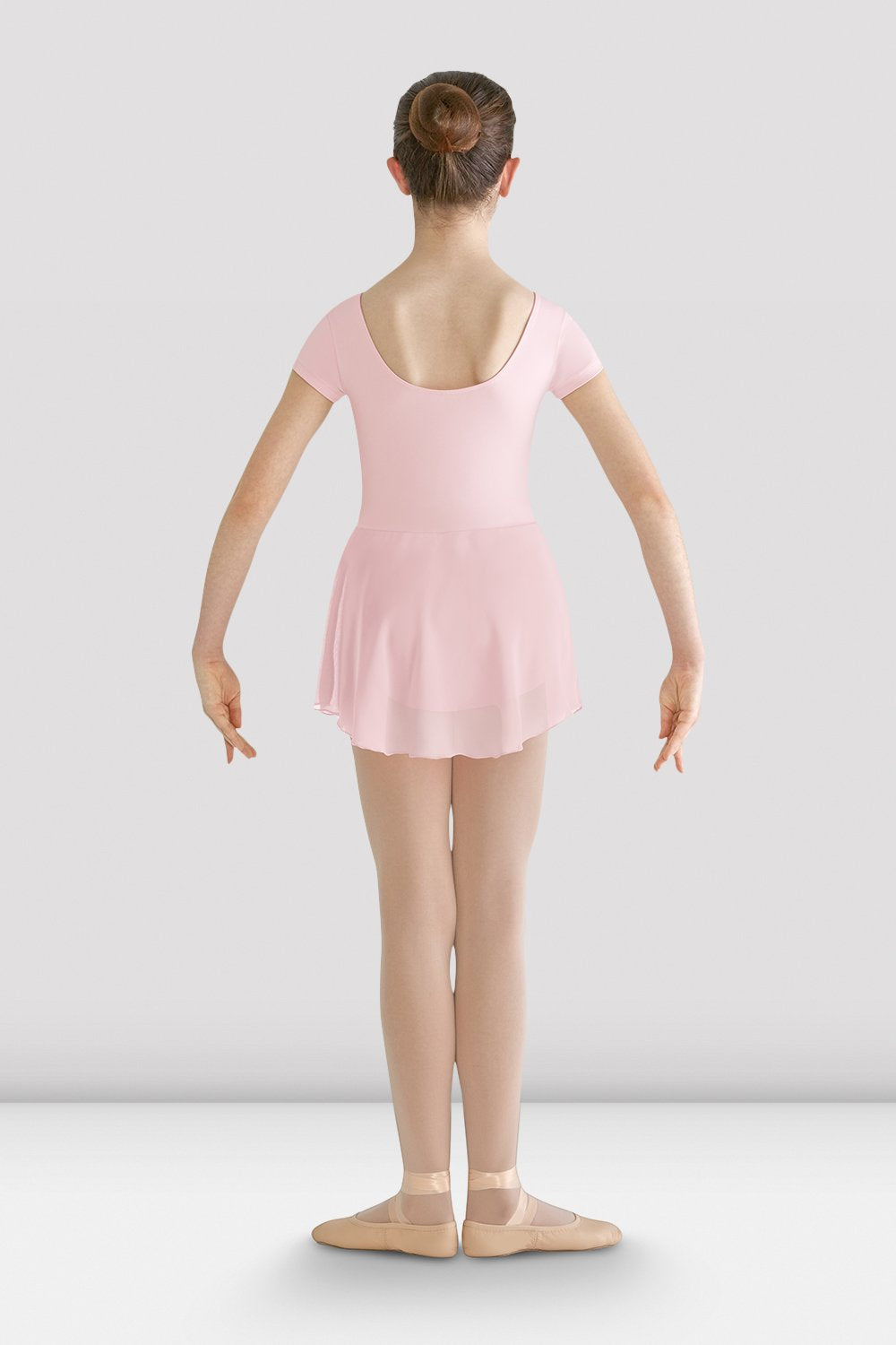 Girls Prisha Short Sleeve Skirted Leotard - BLOCH US