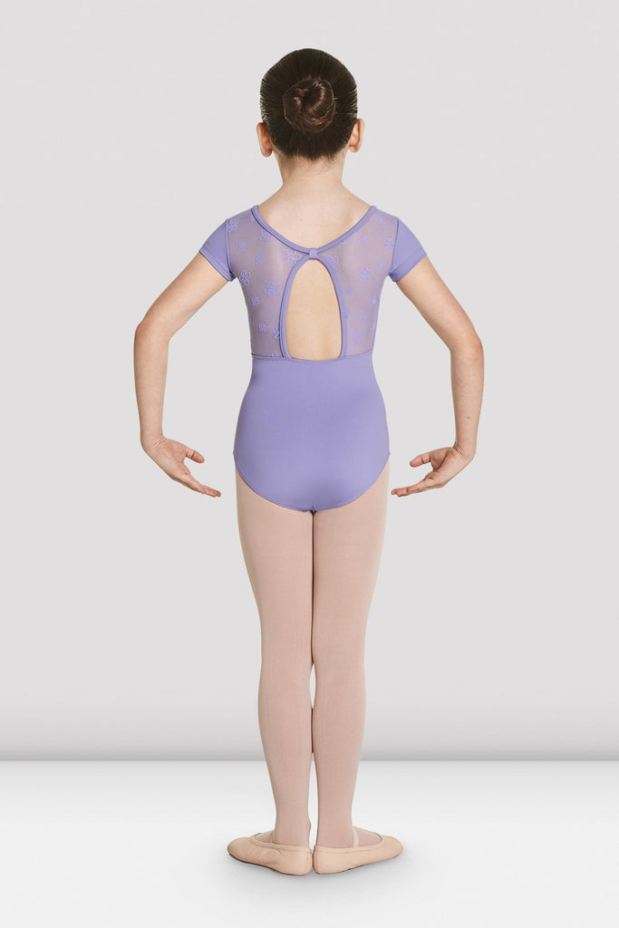Girls Antheia Short Sleeve Sweetheart Leotard - BLOCH US
