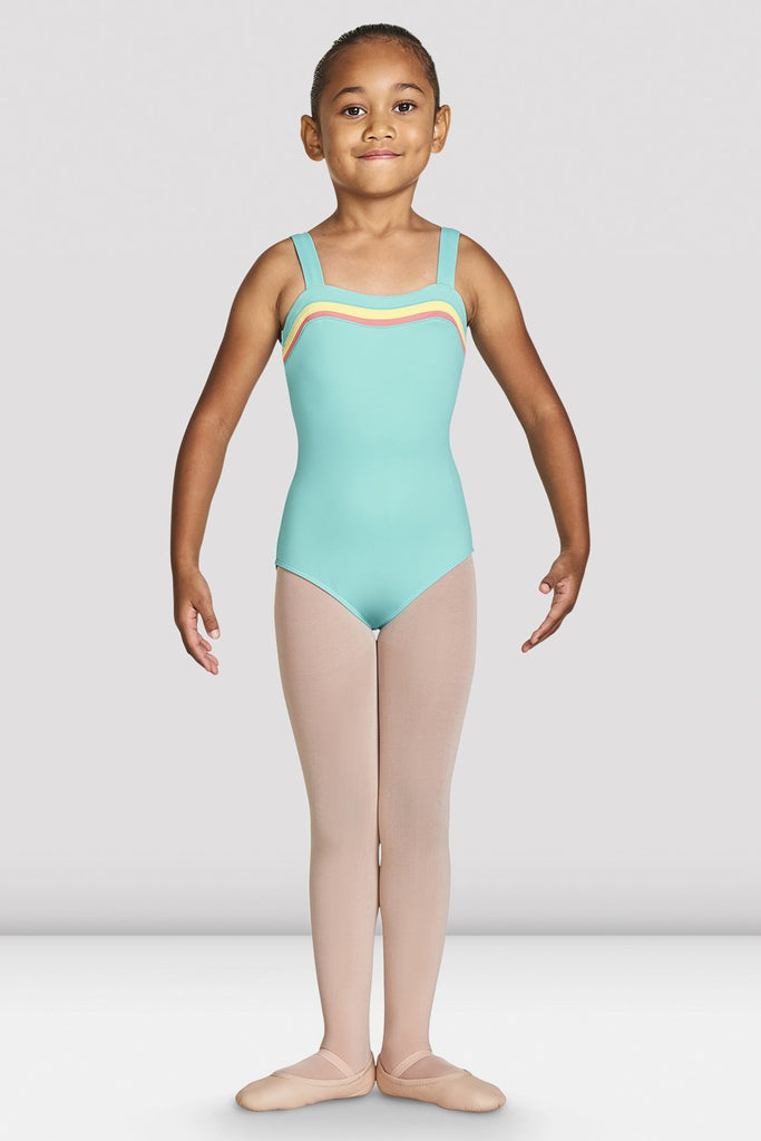 Girls Teagan Sweetheart Wide Strap Leotard - BLOCH US