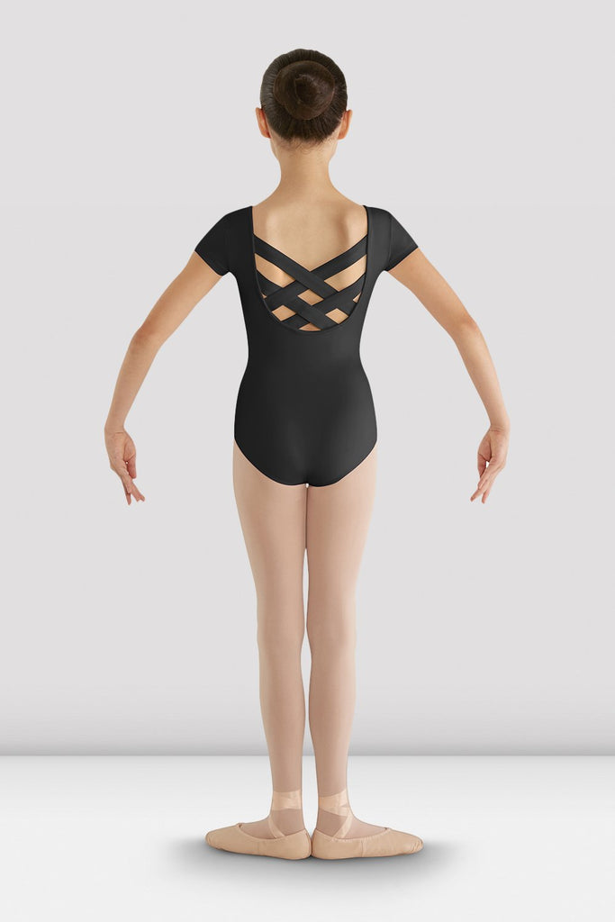 Girls Bellflower Crossback Leotard - BLOCH US