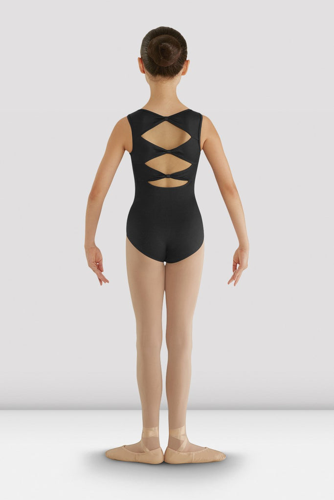 Girls Gladiolus Diamond Back Leotard - BLOCH US