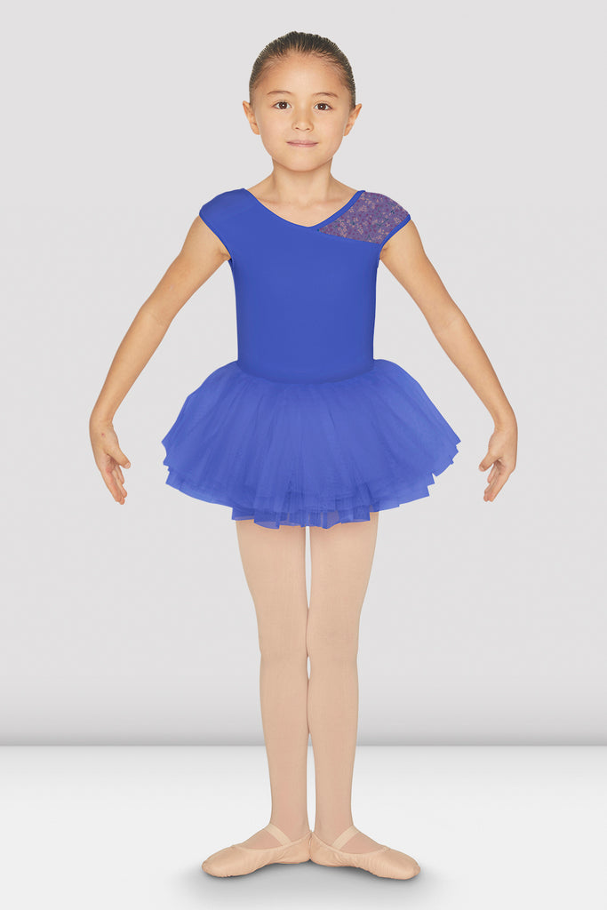 Girls Luciana Cap Sleeve Tutu Leotard - BLOCH US