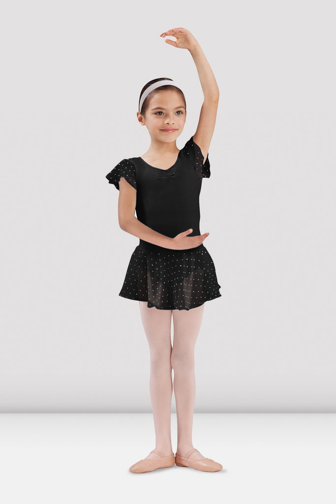 Girls Olesia Georgette Sequin Skirt - BLOCH US