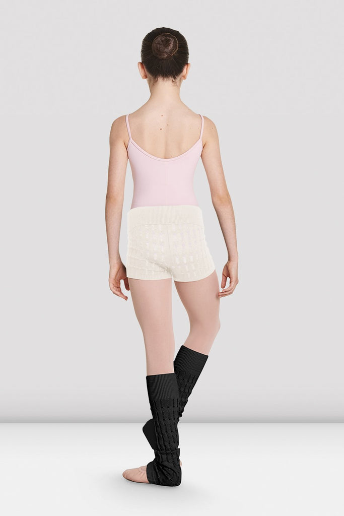 Girls Nora Knitted Warm-Up Shorts - BLOCH US