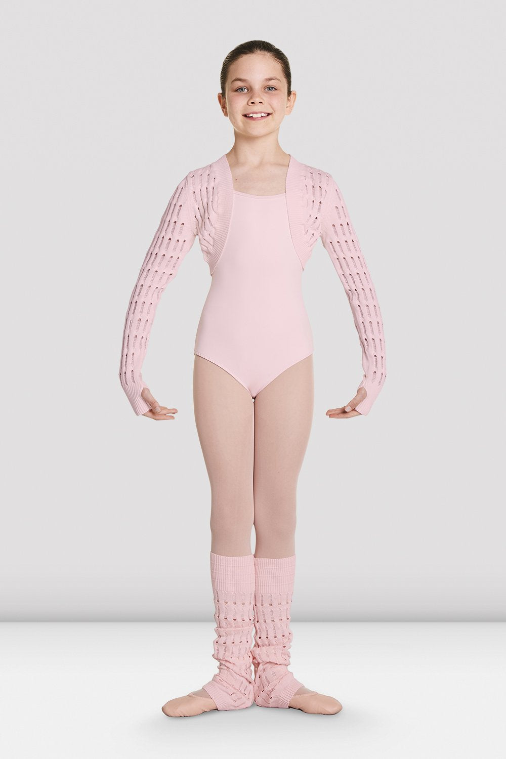Girls Roesia Knitted Long Sleeve Shrugs
