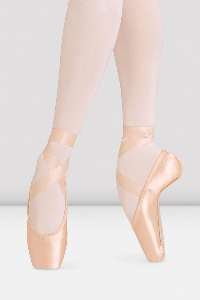 Balance European Longer Length Pointe Shoes - BLOCH US
