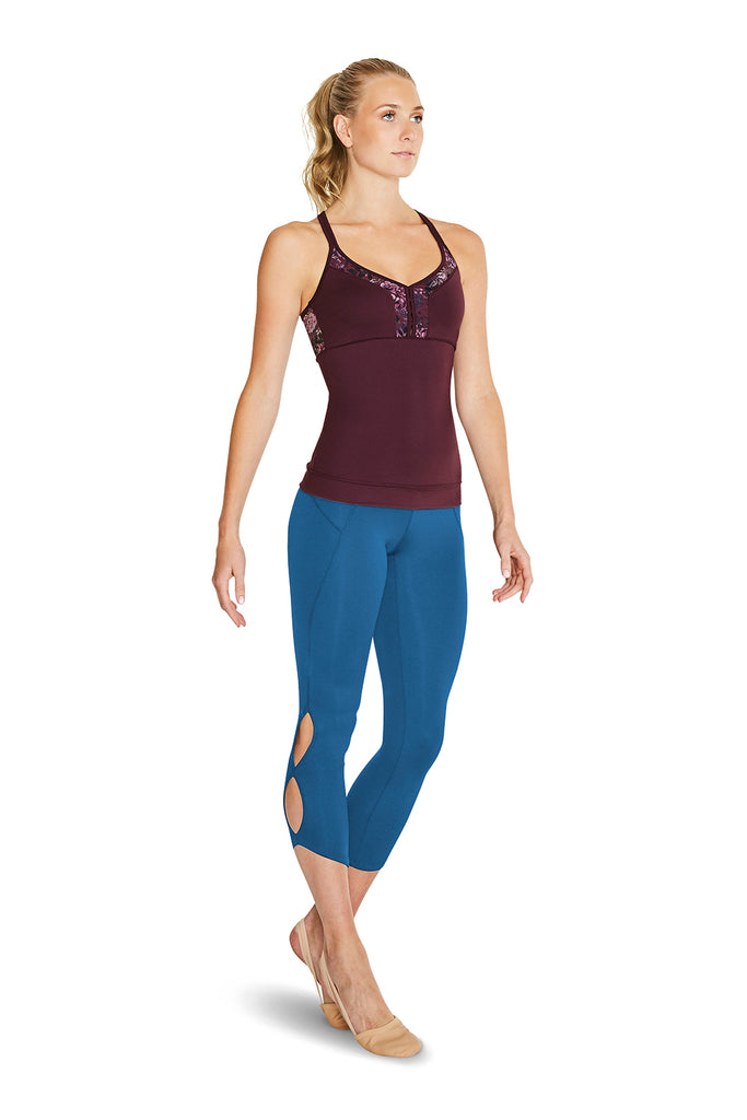 Ladies Folie Capri Legging - BLOCH US