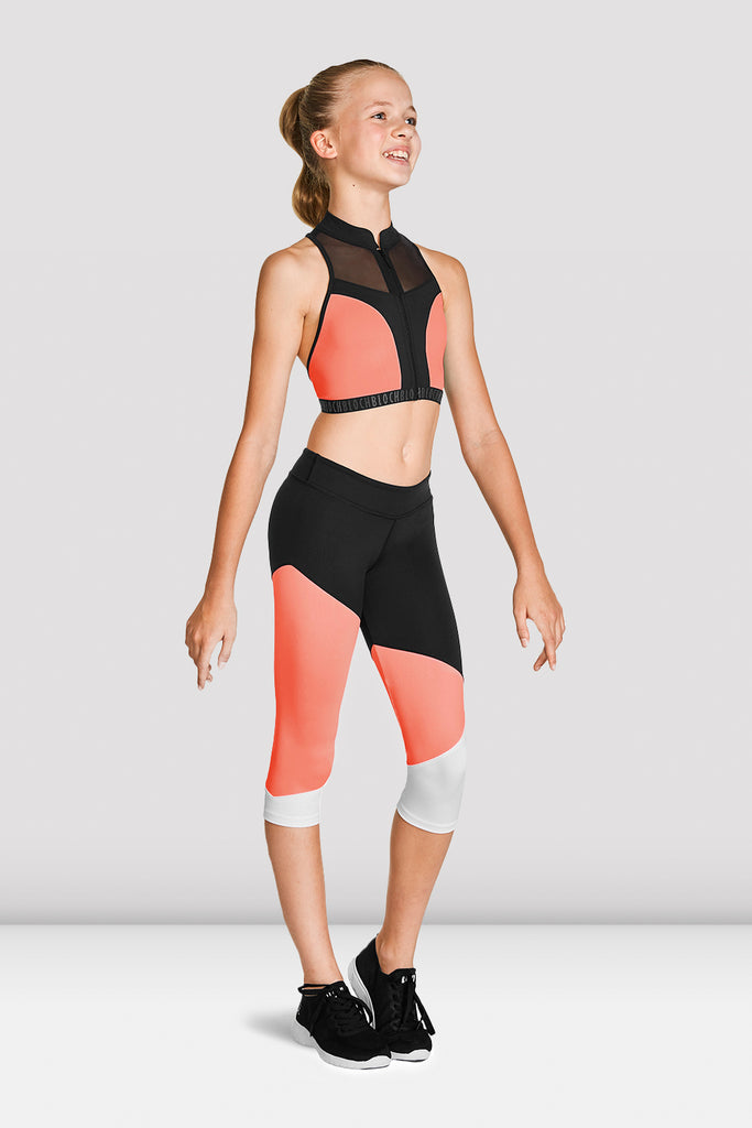 Girls Capri Leggings - BLOCH US