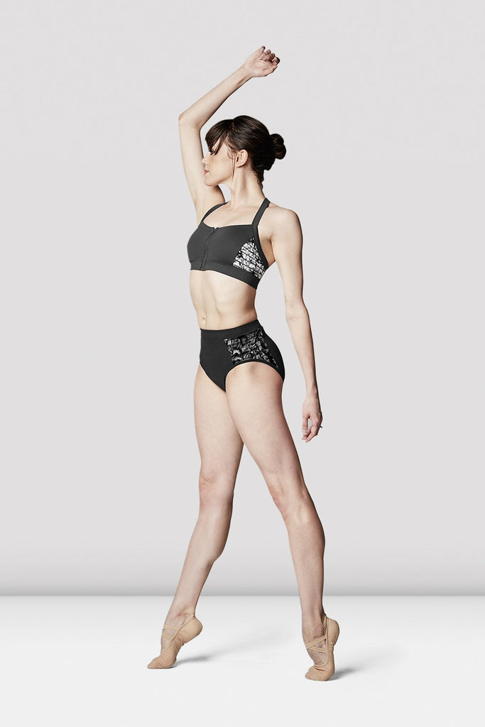 Ladies High Waist Printed Briefs - BLOCH US
