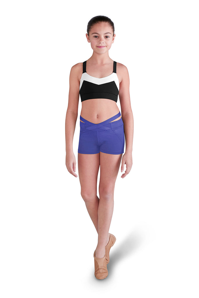 Girls X Banded Waist Short - BLOCH US