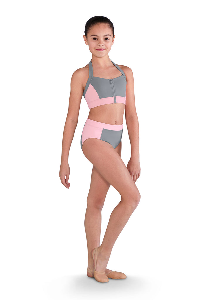 Girls Two Tone Brief - BLOCH US