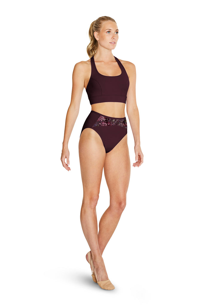 Ladies Nessie Racer Back Crop Top - BLOCH US