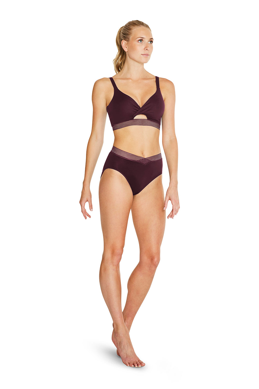 Ladies V High Waisted Brief - BLOCH US