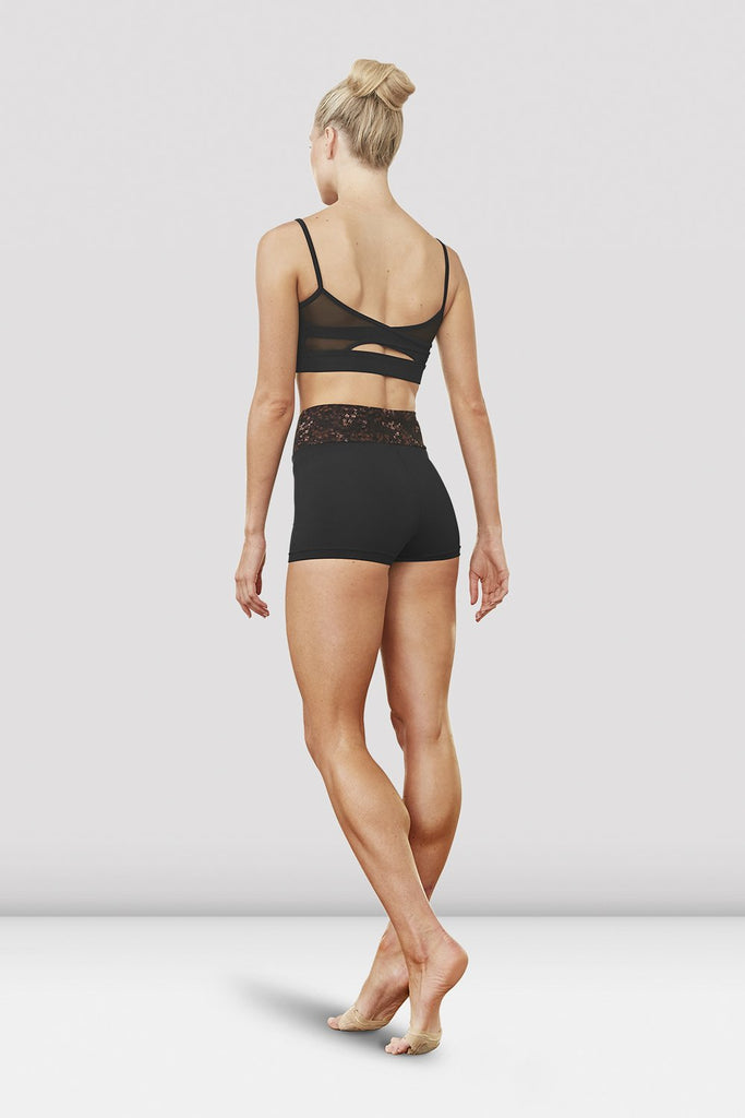 Ladies Indi Printed Waistband Short - BLOCH US