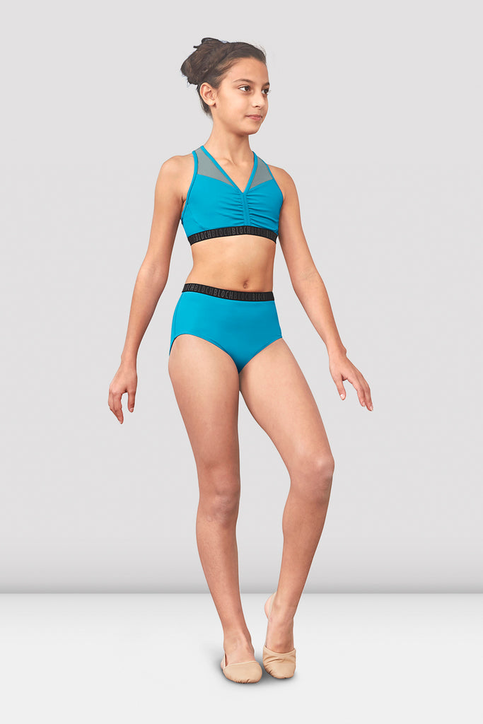 Girls Neela High Waist Dance Brief - BLOCH US