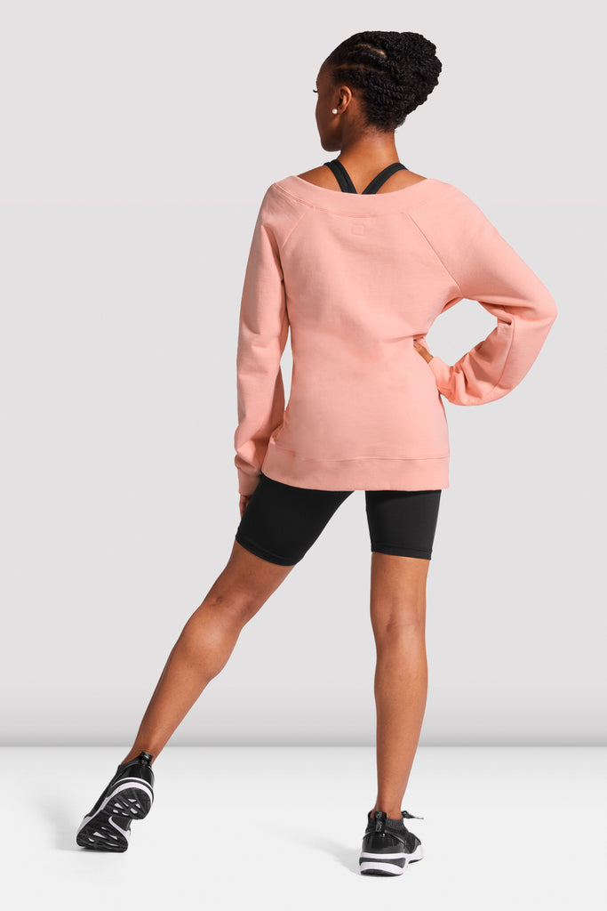 Ladies Oversize Logo Sweatshirt - BLOCH US