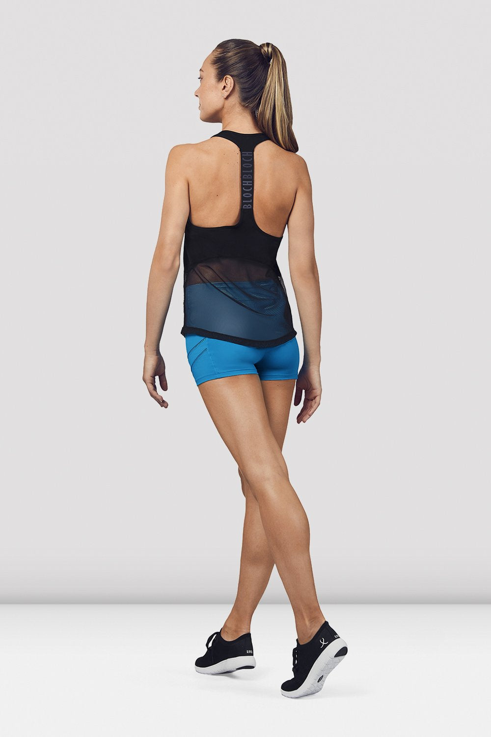 Ladies Mesh Detail Tank Top - BLOCH US