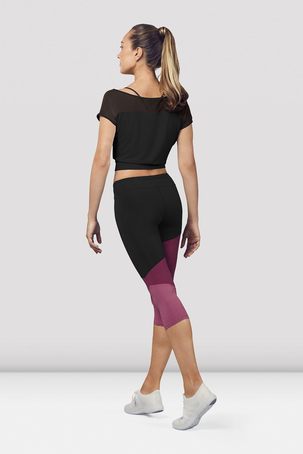 Ladies Crop Mesh Tee - BLOCH US