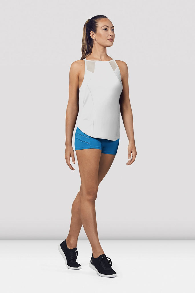 Ladies Mesh Panelled Detail Top - BLOCH US