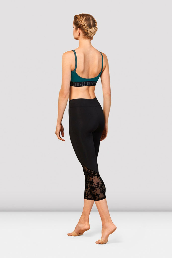Ladies Bloch Scoop Back Crop Top - BLOCH US