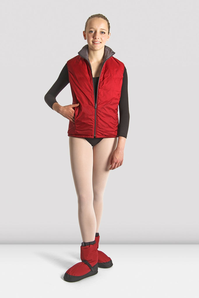 Adult Reversible Warm Up Vest - BLOCH US