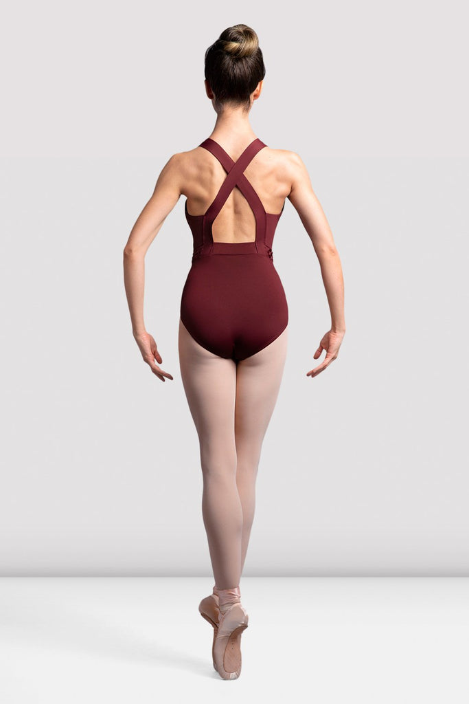 Ladies Idalia Cross Back Tank Leotard - BLOCH US