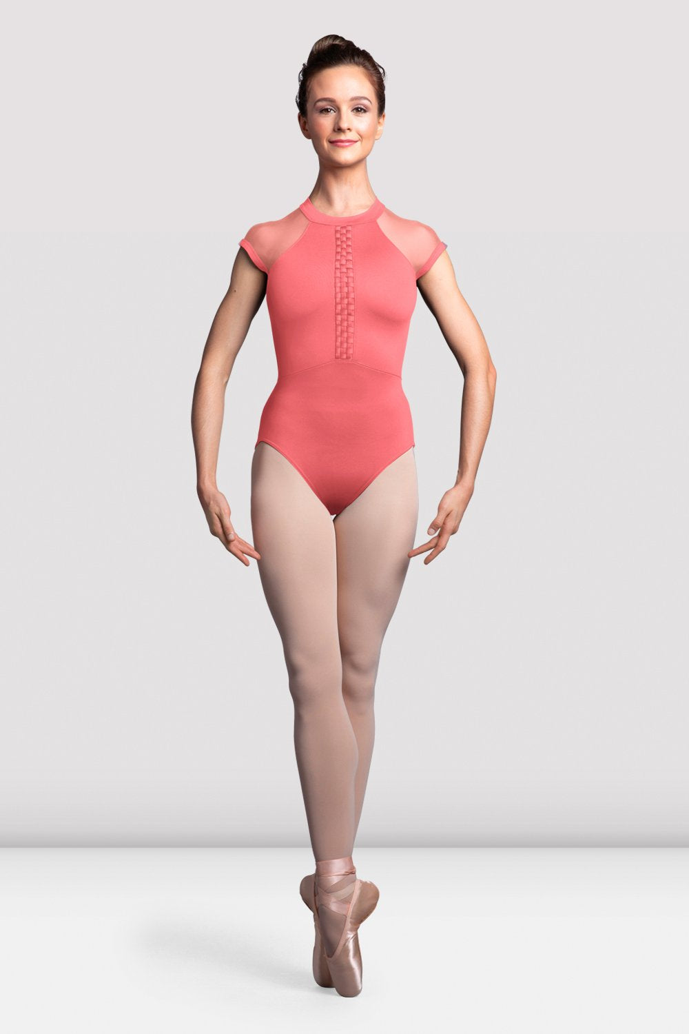 Ladies Empress Cap Sleeve Open Back Leotard - BLOCH US