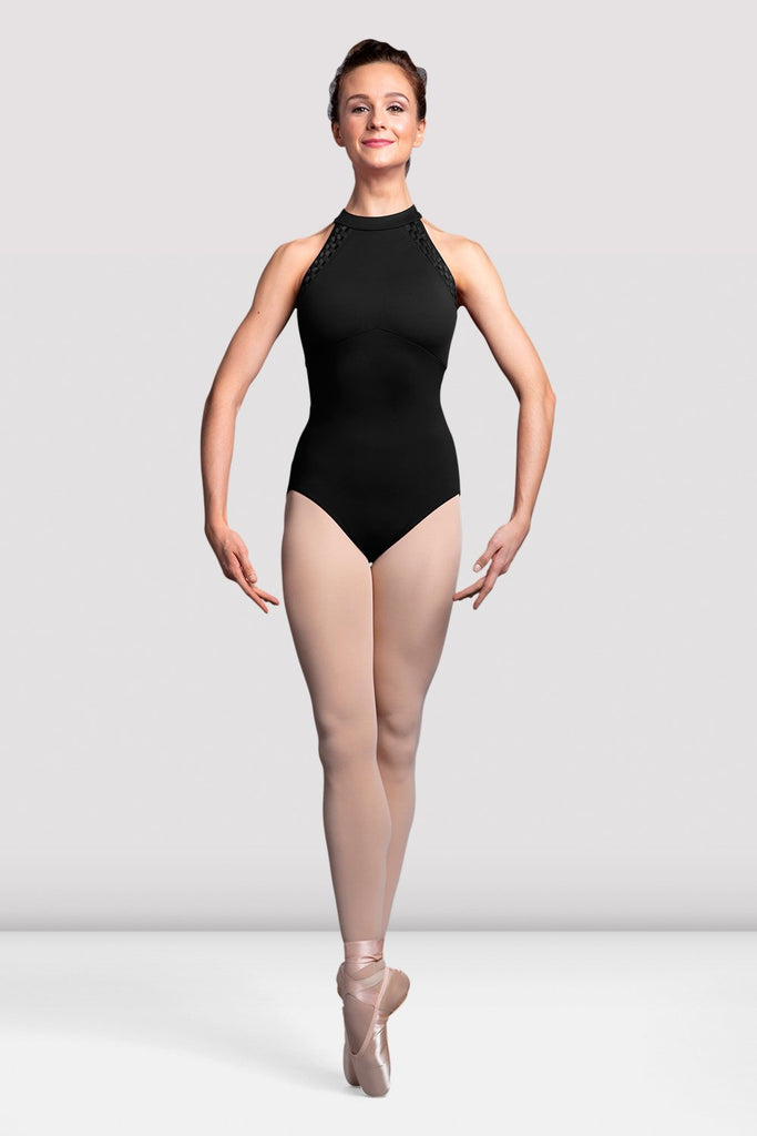 Ladies Sidonie Mesh Back Halter Neck Leotard - BLOCH US