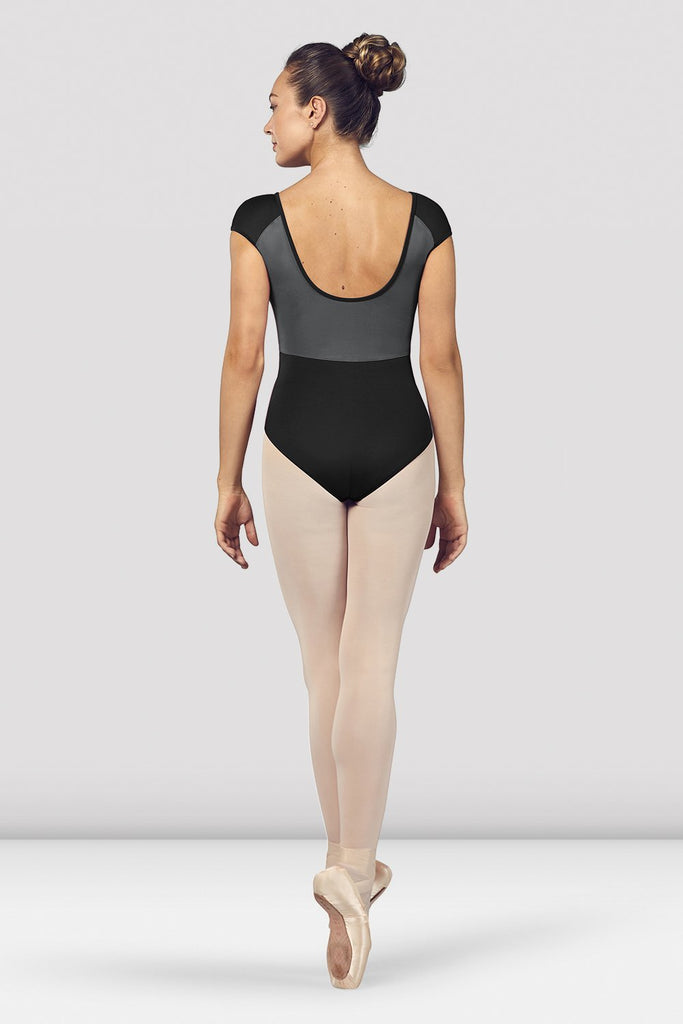 Ladies Dhara Scoop Back Cap Sleeve Leotard - BLOCH US
