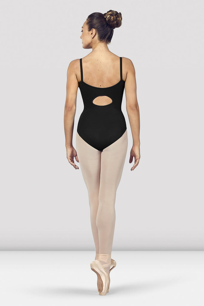 Ladies Vilette Zip Front Open Back Camisole Leotard - BLOCH US