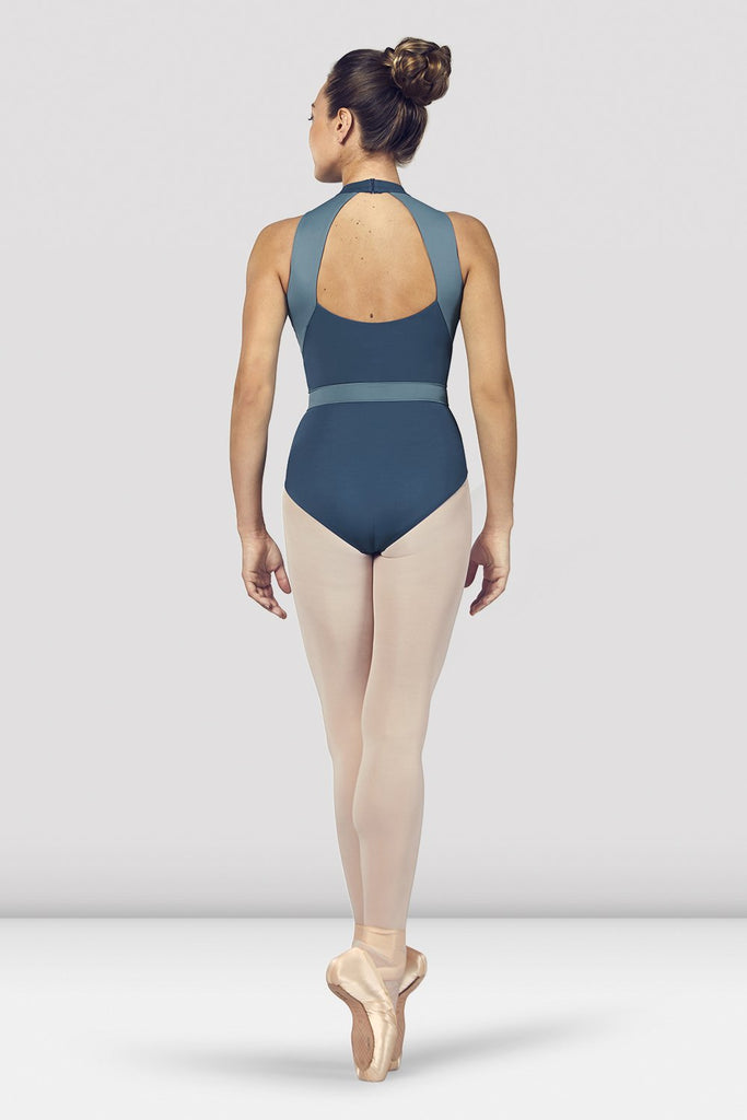 Ladies Alia Halter Neck Open Back Leotard - BLOCH US