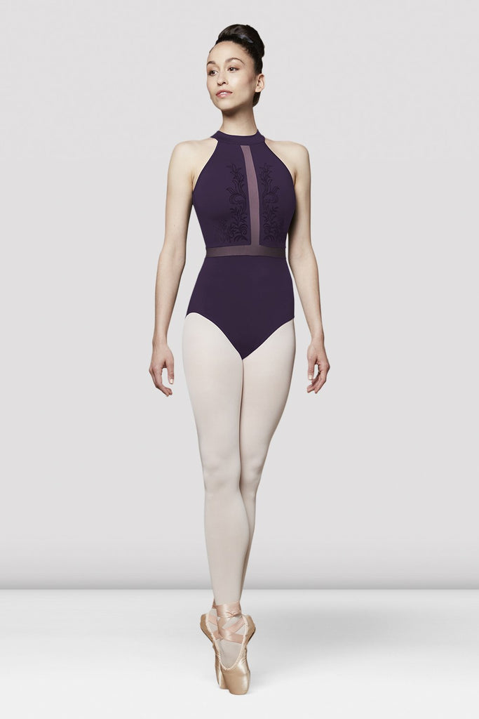 Ladies Vita Mesh Halterneck Leotard - BLOCH US