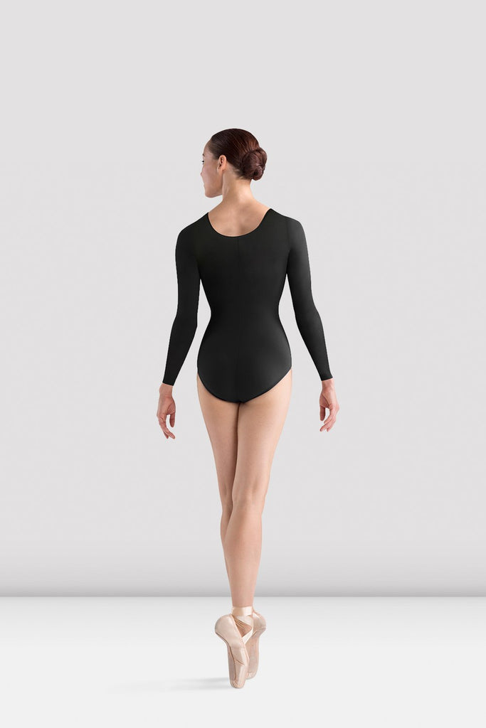 Ladies Lepsi Long Sleeve Leotard - BLOCH US