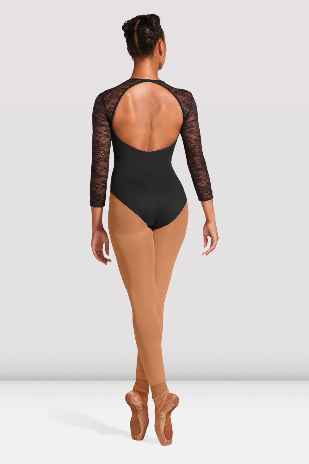 Ladies Kate Lace Open Back Leotard - BLOCH US
