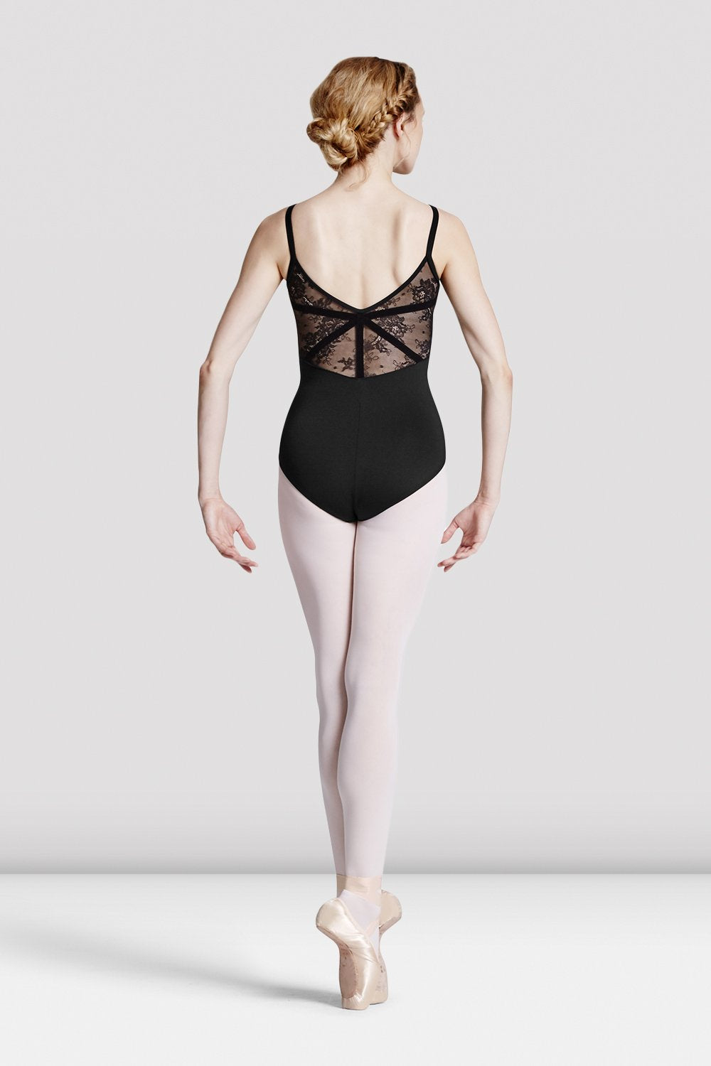 Ladies Eyal Lace Camisole Leotard - BLOCH US