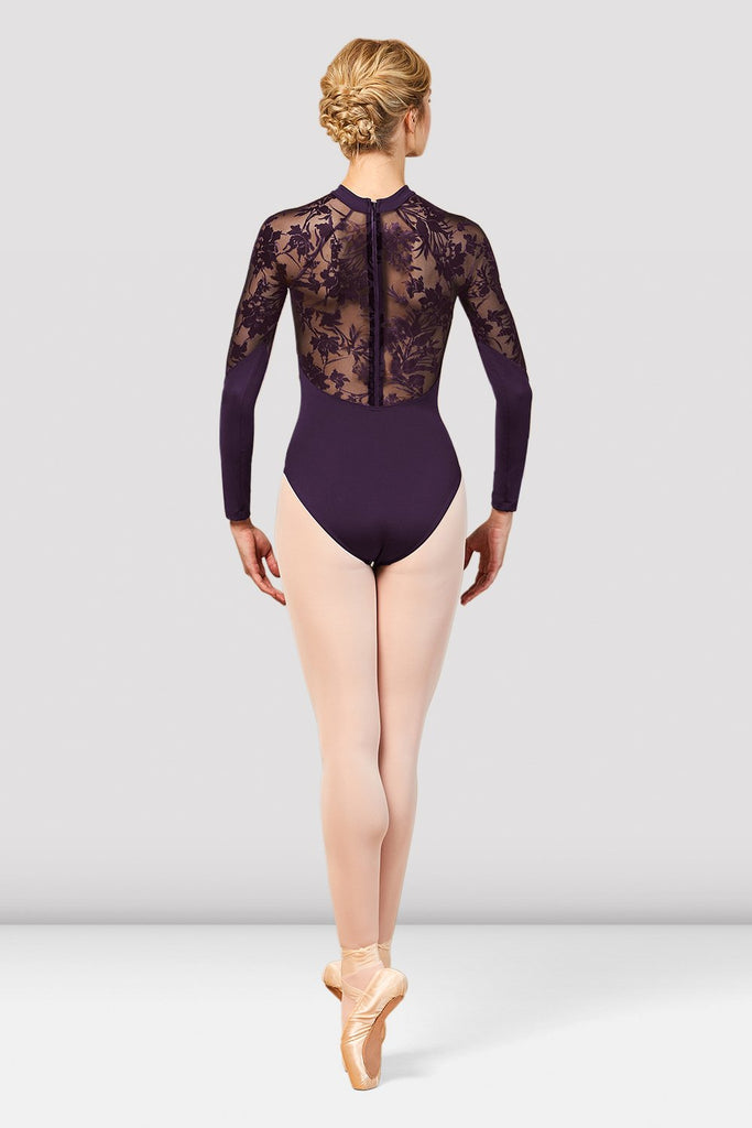 Ladies Kahlo Long Sleeve Mesh Back Leotard - BLOCH US