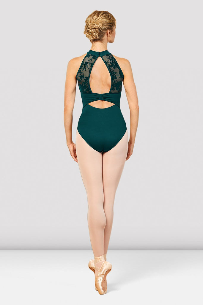 Ladies Aero Halter Neck Open Back Leotard - BLOCH US