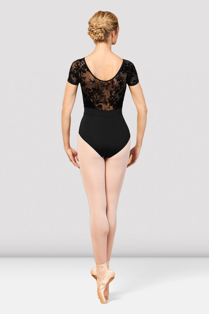Ladies Eliana Mesh Back Cap Sleeve Leotard - BLOCH US