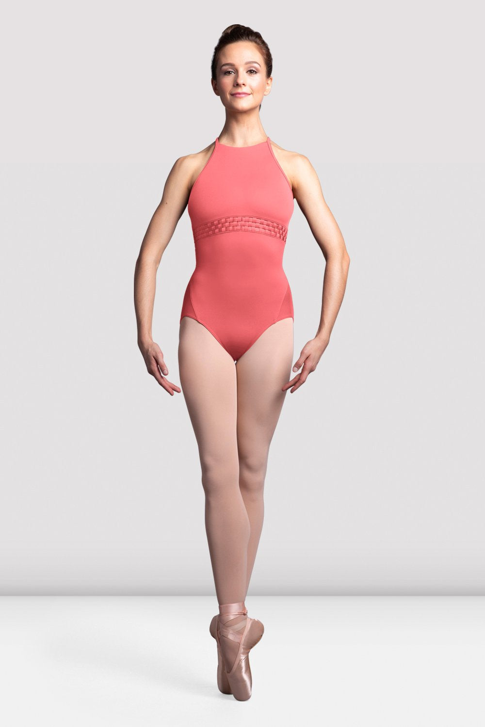 Ladies Cerise Racer Back Camisole Leotard - BLOCH US