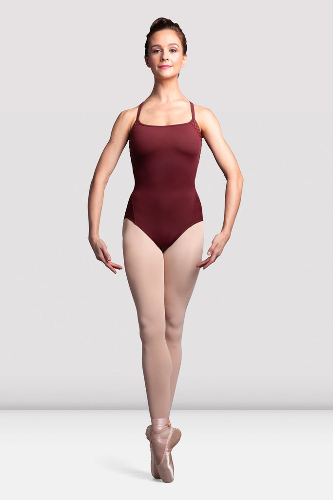 Ladies Boutique Weave Trim Camisole Leotard - BLOCH US