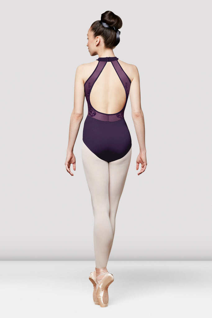 Ladies Mesh Halterneck Leotard - BLOCH US