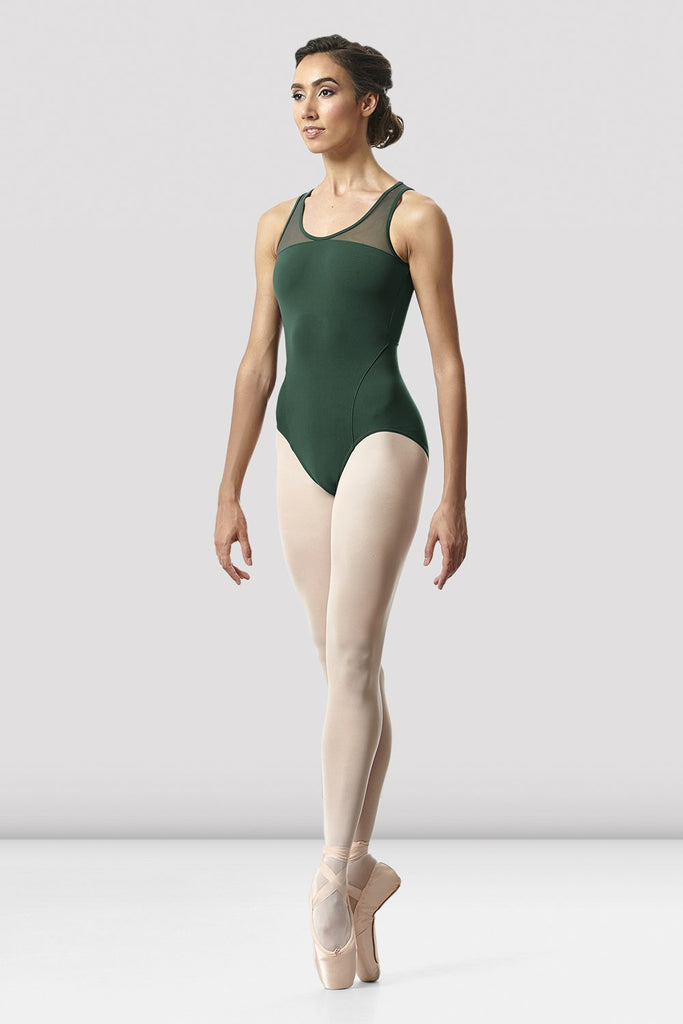 Girls Arrosa Open Back Leotard - BLOCH US