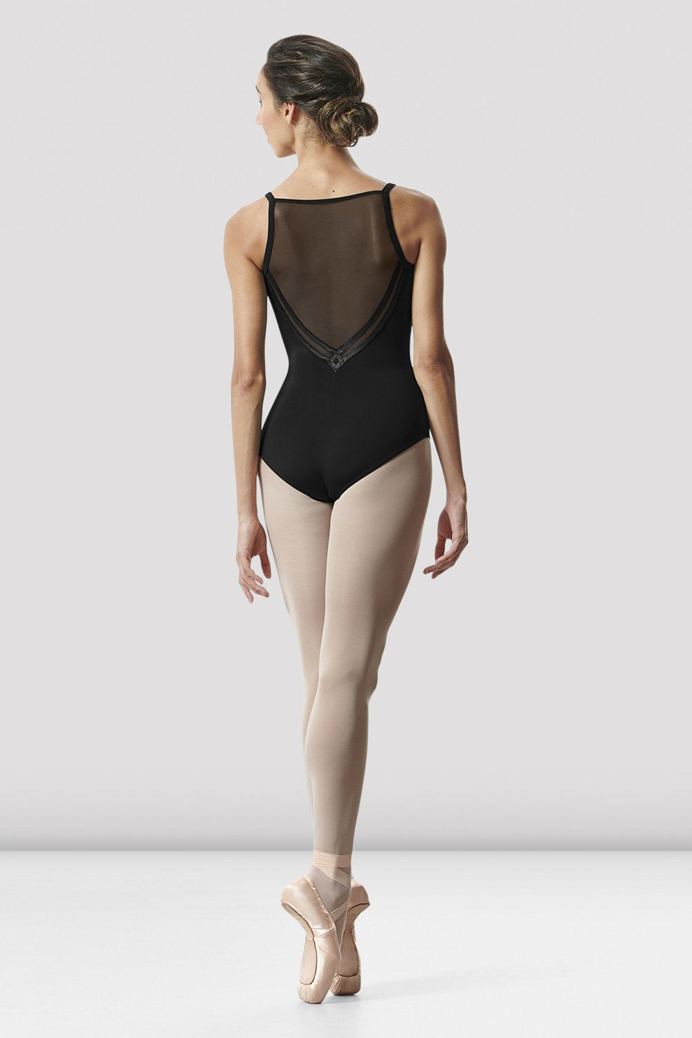 Ladies Kora Camisole Mesh Back Leotard - BLOCH US