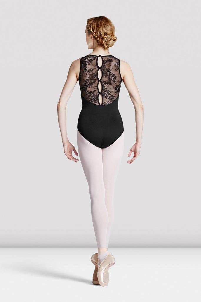 Ladies Fresia Button Back Leotard - BLOCH US